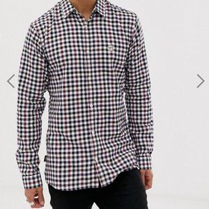 NWT Le Breve Flannel Longline Check Shirt